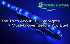 The Truth About Led Striplights 7 Must Knows Before You Buy Flexible Led Strip Lights Canada