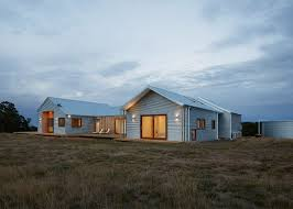 Summer House Design Group The Corrugated Steel Facade Of This House In Rural Australia