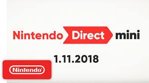 Nintendo Direct Mini 1.11.2018 - YouTube