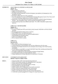 Core Java Resume Samples Velvet Jobs