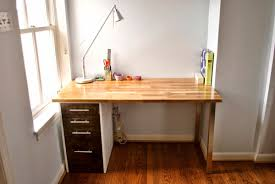 Counter Top Desks Using The Ikea Alex Drawer Unit As Legs And The Hammarp Counter