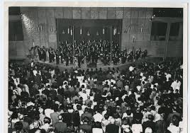 the pittsburgh symphony orchestra performs in tehran in august 1963