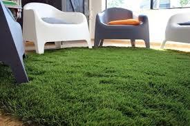 fake grass carpet. Installed Fake Grass Carpet In Living Room .