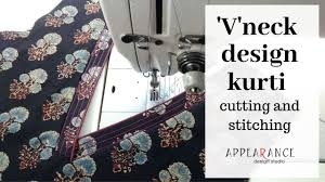 Sew Inappropriate Designs Vneck Design Stitching Cutting And Stitching