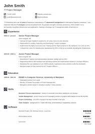Word Resume Template Mac Fresh Internship Resume Template Word ...