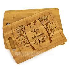 groom gifts personalized classic wooden cutting board sold in a single piece loading zoom