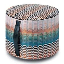 santafe pw cylinder pouf by missoni home  yliving