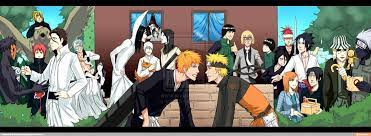Naruto X Bleach / iFunny :)   Anime, Anime crossover, Bleach anime