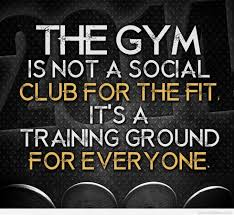 awesome gym and fitness quote picture