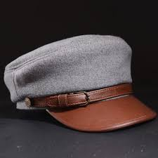 ry0909 youni uni real leather hats baseball caps