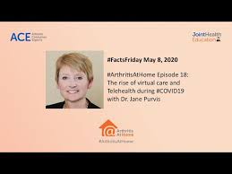 Arthritis At Home Ep.18: The rise of virtual care & telehealth during ...
