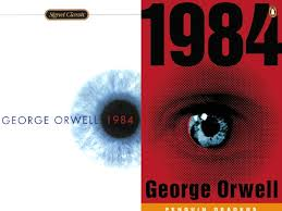 george orwell nineteen eighty four thoughtful tomes themes explored totalitarianism psychological manipulation physical control control over history information technology language usage mind control