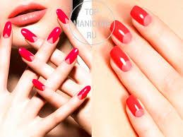 Tmavě červená Manikúra S Designem červený Lak Na Nehty Originální