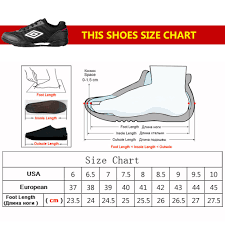 Umbro Soccer Shoes Size Chart Us 22 04 24 Off Umbro New Mens Football Shoes Mens Soccer Shoes Football Sneakers Boy Kids Size 37 44 Football Boots Zapatillas In Soccer Shoes