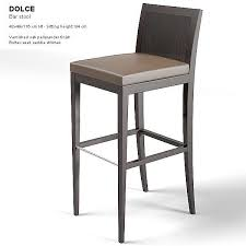 decoration contemporary bar stools comfy modenature dolce barstool modern stool chair intended for 1 from