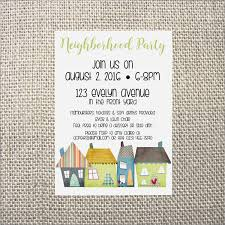 Neighborhood Party Invitation Wording Neighborhood Party Invitation Wedding Potluck Invitation Wording