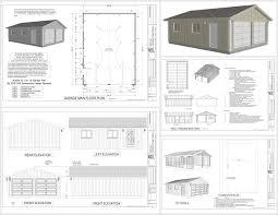 rv workshop plans. garage plans sds living quarters g x dwg an: full size rv workshop