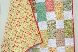 Easy Bricks Quilt Tutorial - Diary of a Quilter - a quilt blog & I just love that Strawberry Fields collection – I think it's one of my  favorites of the year. And I love that I have two different looks from the  same ... Adamdwight.com