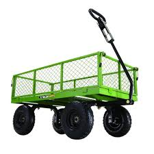 flatbed utility cart. Interesting Utility Gorilla Carts 800 Lb Steel Utility Cart Throughout Flatbed N