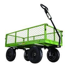 gorilla carts 800 lb steel utility cart