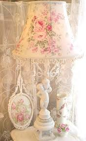 shabby chic table lamps for bedroom custom floor or large table lamp shade shabby pink roses