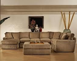 charming comfortable sectional sleeper sofa decorating sectional sleeper sofa in tan plus ottoman on wooden