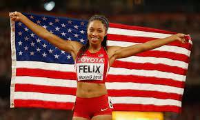 Better than Usain Bolt? Allyson Felix ...