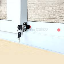 full image for aluminium sliding door lock with key sliding door lock keypad free 5