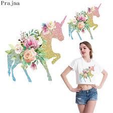 <b>Prajna</b> Unicorn <b>Girl</b> Iron On <b>Transfer</b> For Clothes T Shirt <b>Heat</b> ...