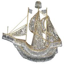 full size of large italian gilt bronze and crystal boatr at 1stdibs ship pottery barn wheel