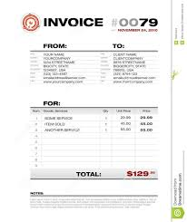 invoice template stock images image  invoice template