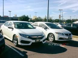 2016 Honda Civic 10th Gen Vs 2015 Civic 9th Gen