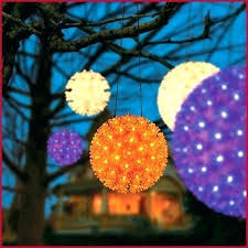 outdoor lighting balls. Lighted Spheres For Outdoor Trees Light Balls  Outdoor Lighting Balls N