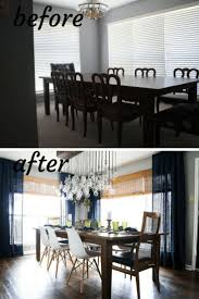 dining room makeover ideas. Before And After Dining Room Makeover. A Renovation With Tons Of DIY Projects, Ideas Makeover L