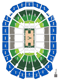 Milwaukee Bucks Detailed Seating Chart Groups Pricing Seating And Arena Map Milwaukee Bucks
