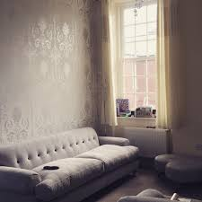Silver Wallpaper For Bedrooms Laura Ashley Josette Wallpaper In Silver Glitter Furniture Is Dfs