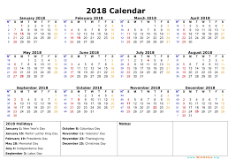 yearly printable calendar 2018 free yearly printable calendars templates franklinfire co