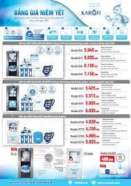 Máy lọc nước RO Karofi giá bao nhiêu tiền? | Máy lọc nước, Nước, Mây