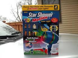 As Seen On Tv Christmas Lights New N Box Star Shower Motion Laser ...