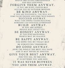 Mother Teresa Quotes Love Them Anyway Amazing New Saint Mother Teresa Quotes Mother Teresa Quote Love Them Anyway