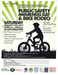 visit the rodeo for a helmet fitting station learn the abc s of bicycle riding the rules of the road and a fun obstacle course