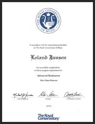 music leland jansen advanced rudiments theory first class honours