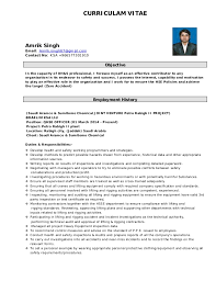 Hse Advisor Sample Resume