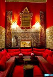 red moroccan bedroom - Google Search