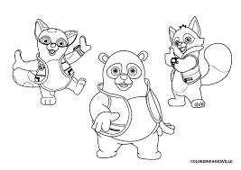 Small Picture Printable Special Agent Oso Coloring Page Online Coloring Home