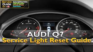 Audi Q5 Oil Light Audi Q7 Service Oil Light Reset Guide