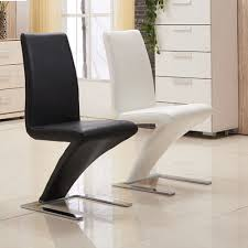 leather restaurant chairs. 2 4 Faux Leather Dining Chairs High Back Home Commercial Restaurant Z Chair T