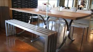 unusual dining furniture. 12 Cool Dining Table Ideas With Benches Unusual Dining Furniture D