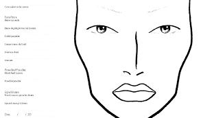 makeup face chart by tablet desktop original size back to template printable charts free makeup face