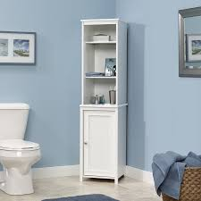 Bathroom Cabinet Tower Sauder Caraway Linen Tower Home Furniture Bathroom Furniture